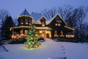 Professional holiday and event decorating service