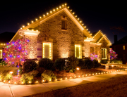 Residential holiday decorations